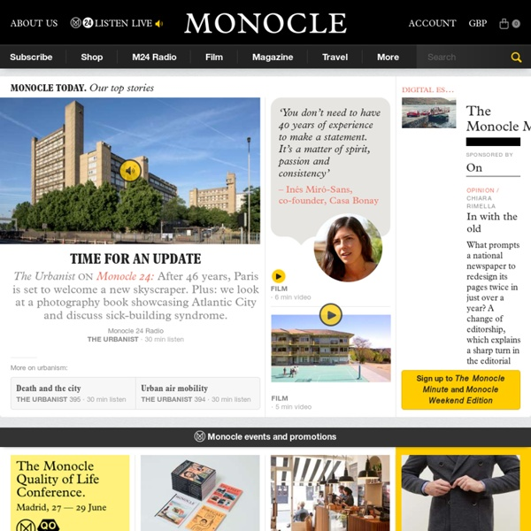Monocle / Global Briefing (monocle.com)
