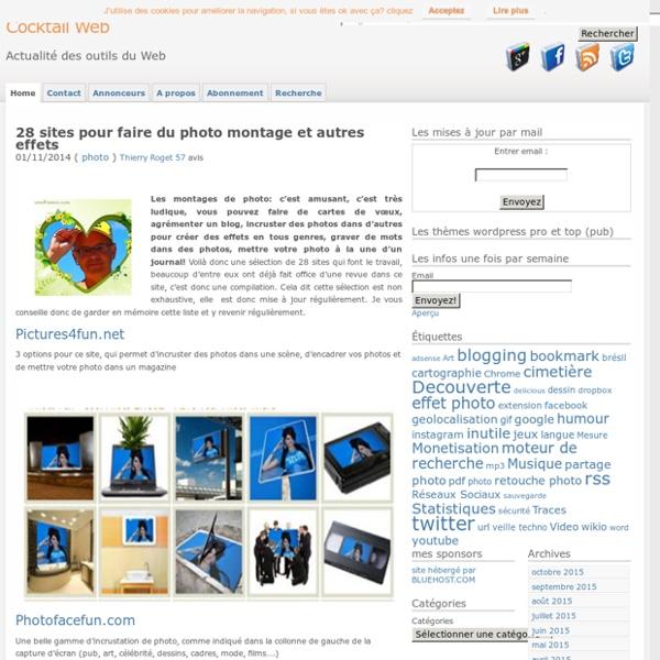 Photo monatge : 19 sites pour Incruster vos photos dans des phot