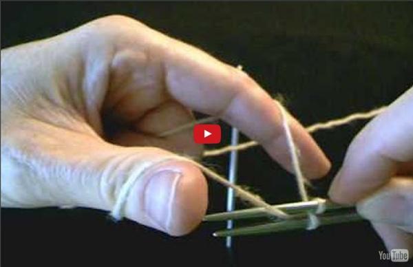 [vidéo] Montage magique des mailles de Judy Becker