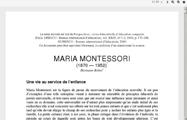 Montessori en PDF