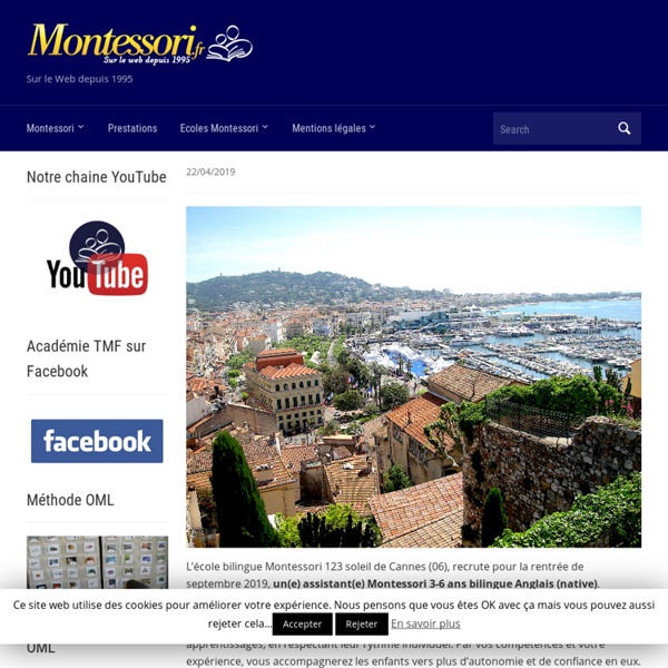 Méthode montessori – formation professionnelle Montessori