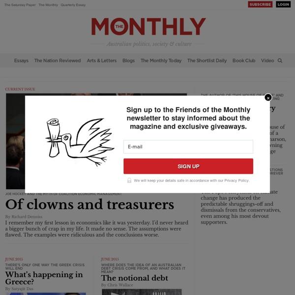 Australia: The Monthly