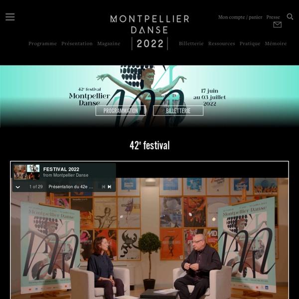 Accueil - Montpellier Danse
