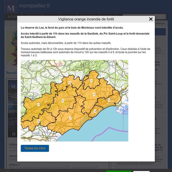 Montpellier.fr : site de la Mairie de Montpellier dans l'Herault