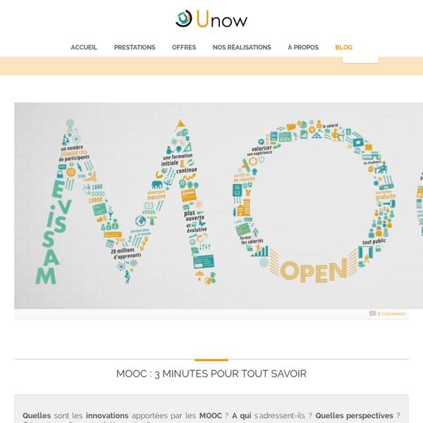MOOC : 3 minutes pour tout savoir