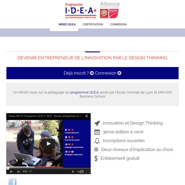 MOOC I.D.E.A - Design Thinking