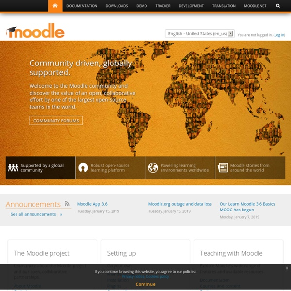 Moodle - Open-source learning platform