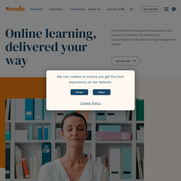 Moodle - the world's open source learning platform