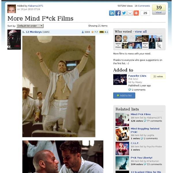 More Mind Fuck Films