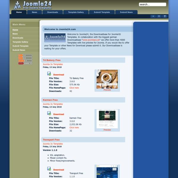 Joomla 1.7 Templates