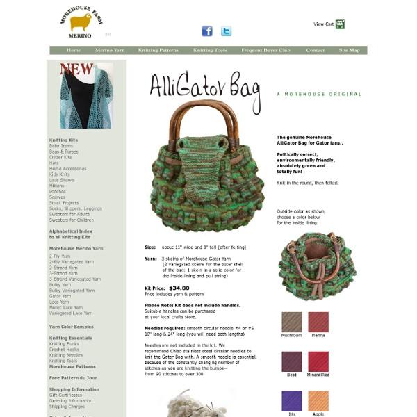 Gator Bag KnitKit