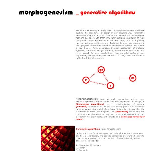 Morphogenesism