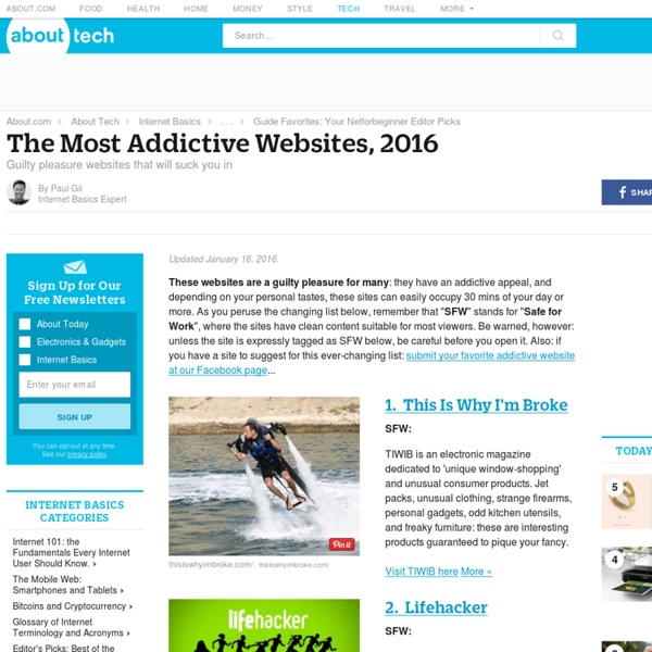 The Most Addictive Sites on the Web, 2014