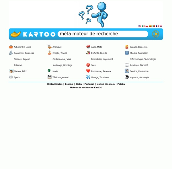 Moteur de recherche KartOO