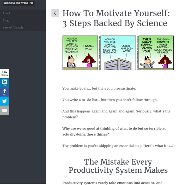 How To Motivate Yourself: 3 Steps Backed By Science
