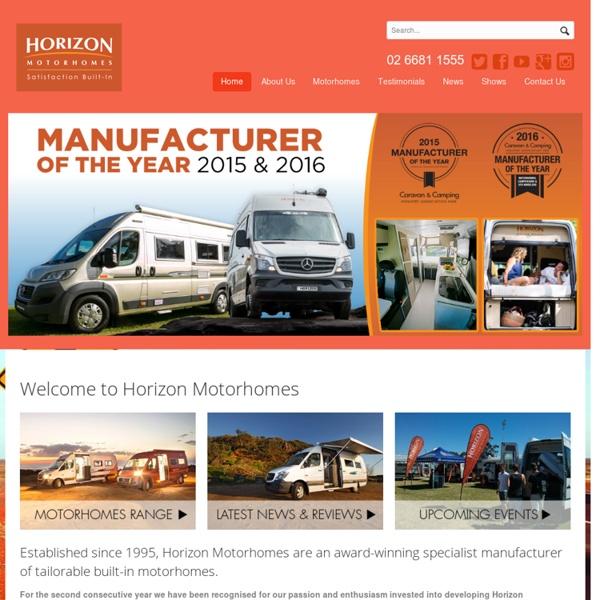Buy Touring Motorhomes, Campervans & Recreational Vehicles