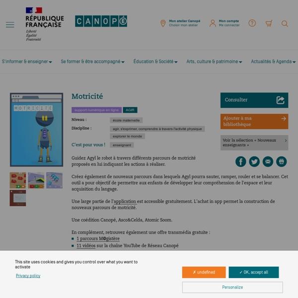 Motricité (application iPad)