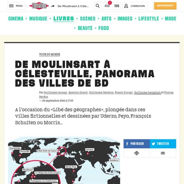 (1) De Moulinsart à Célesteville, panorama des villes de BD