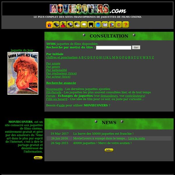 MOVIECOVERS - Site francophone de jaquettes de films cinéma