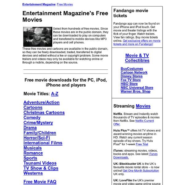 Free Movie Catalog