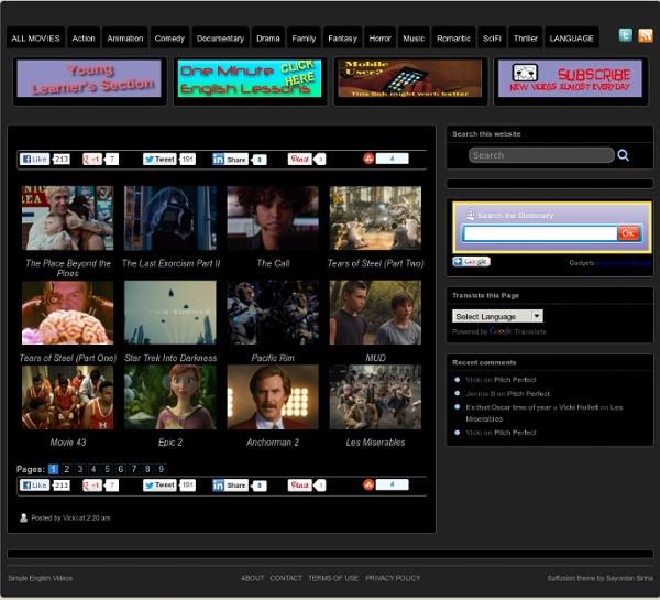 Movies » Simple English Videos