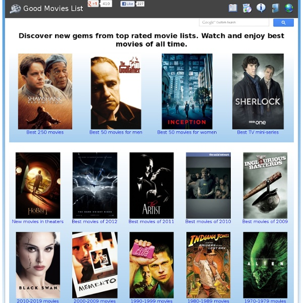 list good movies
