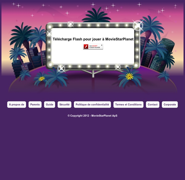 MovieStarPlanet - Fame, Fortune and Friends.  Pearltrees