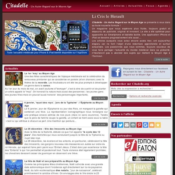 Moyen Age - Citadelle.org