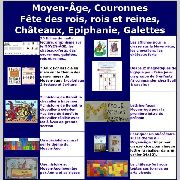 Moyen age cole maternelle pearltrees - Coloriage moyen age maternelle ...