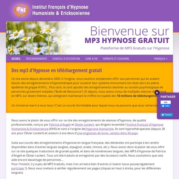 Olivier Lockert et Patricia Angeli - MP3 Hypnose Gratuit