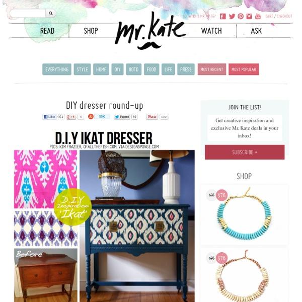 DIY dresser round-up