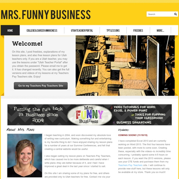 Mrs. Funny Business - Home