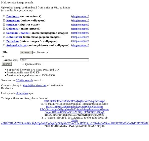 Multi-service image search
