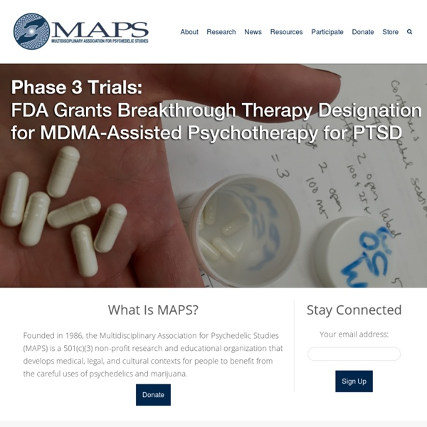 MAPS: Multidisciplinary Association for Psychedelic Studies