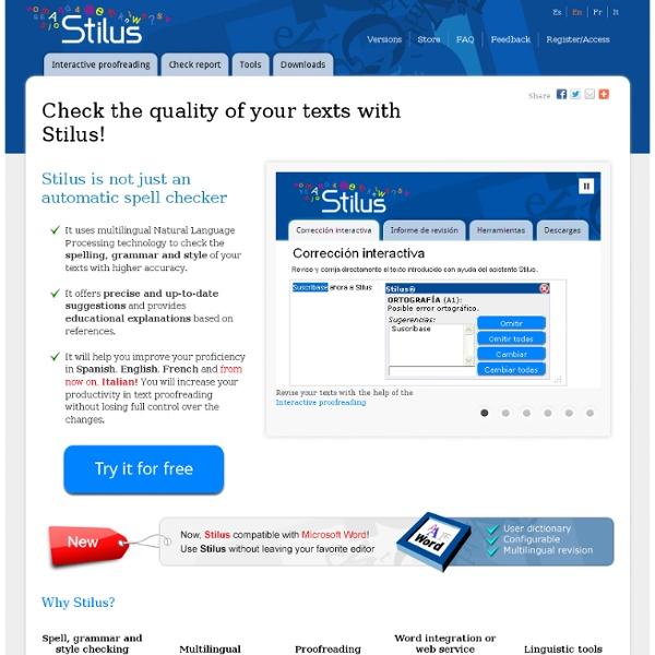 STILUS Corrector