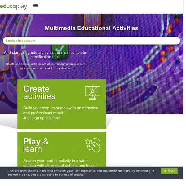 Multimedia Learning Resources - Educaplay