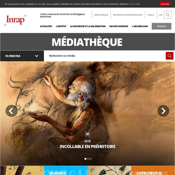Ressources multimedias sur l'archéologie