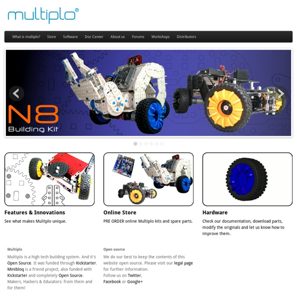 Open source robotics building system