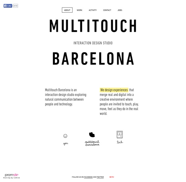 Multitouch Barcelona About