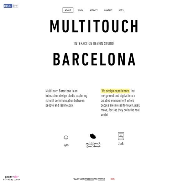 Multitouch Barcelona