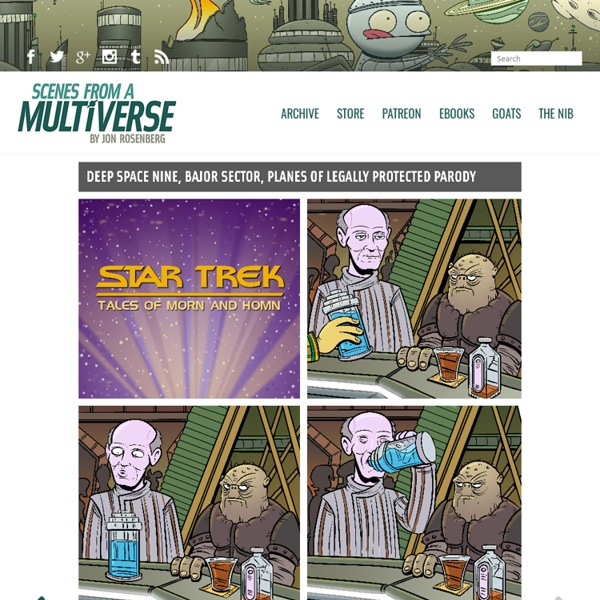 Scenes From A Multiverse - A daily comic about life by Jon Rosenberg