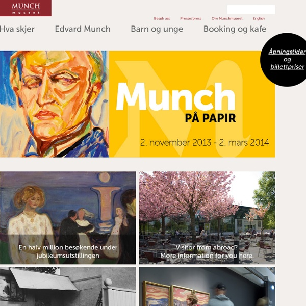Munch-museet : Life and Work -> Works from the collection