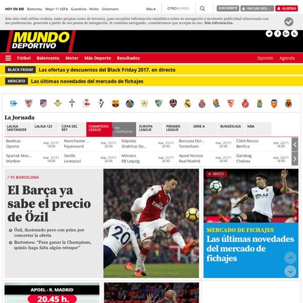 Mundo Deportivo el diario deportivo Online