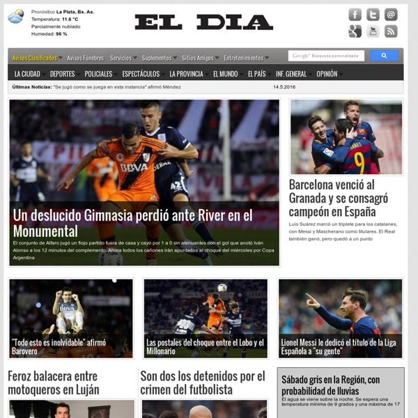 Diario EL DIA - Diario Matutino de la Ciudad de La Plata - Edición ...