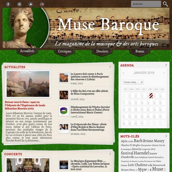 Muse Baroque : le magazine de la musique baroque
