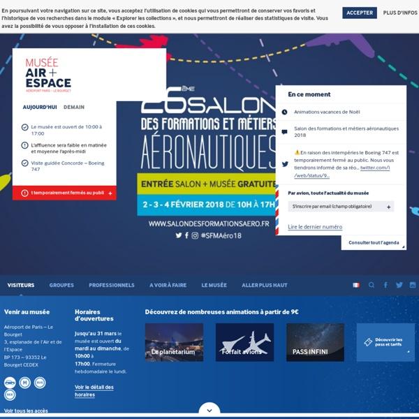 Page d'accueil> Musée de l'Air et de l'Espace - Site officiel