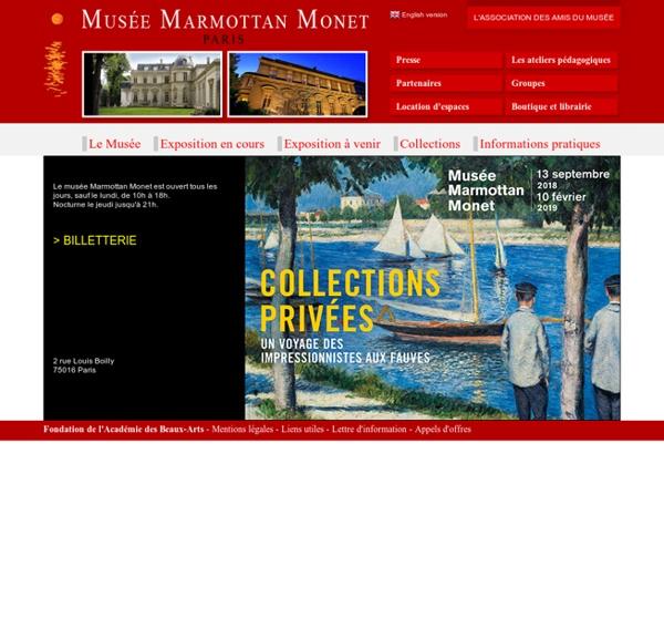 Musée Marmottan Monet - Paris - France