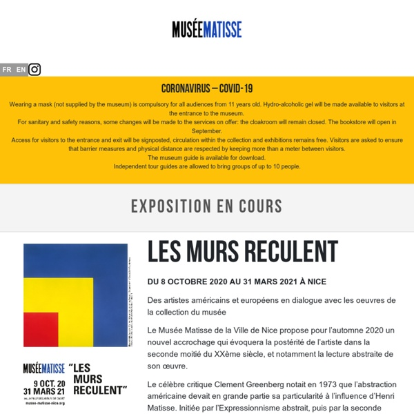 MUSEE MATISSE DE NICE - MATISSE MUSEUM OF NICE -