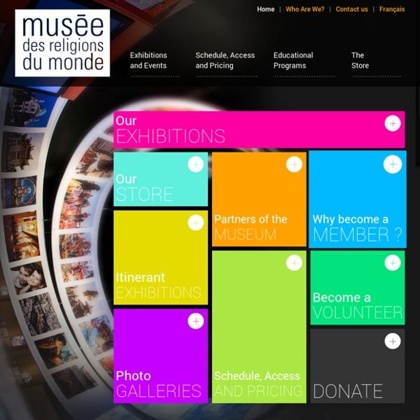 Musée des religions du monde [ Expositions sur l'histoire et les traditions religieuses ]