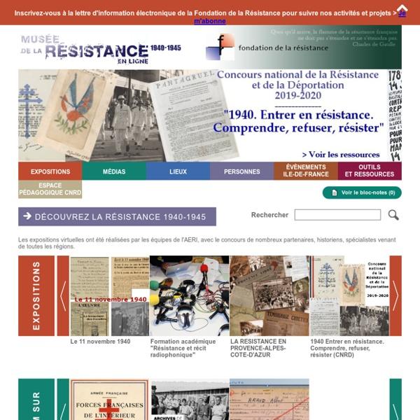 Musée de la résistance en ligne - Home